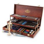 Rajzkészlet, Ceruza készlet - Ajándékkészlet, Művészellátó ajándék szett