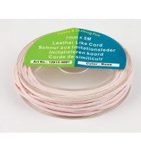 Bőrhatású Szálak, 1mm - Rózsaszín