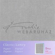 Metál fényű papír - Metál-fényű, hűvös papír 120gr