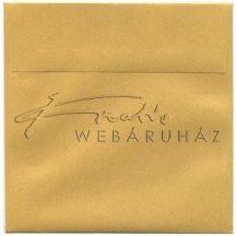 Pergamen boríték 3db - Pergamen technikához - Arany színű