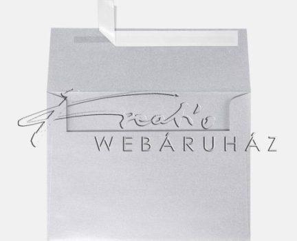 Pergamen boríték 3db - Pergamen technikához - Ezüst színű
