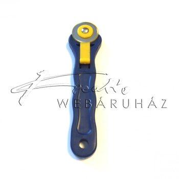 Körkés - 28mm - BLUE textilvágó kés
