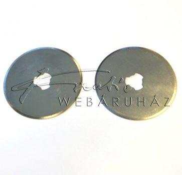 Körkés tartalék penge, egyenes - 28 mm-es körkéshez - 2db-os készlet - OLFA, DAFA, BLUE késekhez