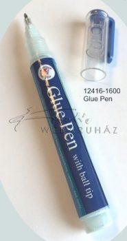 Glue pen - ragasztó toll, golyós adagoló heggyel - Ragasztó golyóstoll 10 ml