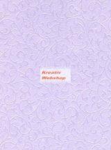 Domborított papír - Levendula Gyöngyház Inda Papír
