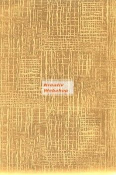 Holografikus kartonpapír - Arany Textúra mintával, 20x30 cm, 5 lap/csomag