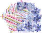 Boríték - Transzparens boríték - Jácint és csíkos - 6 db