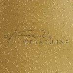 Domborított karton - Róma arany színű, 220gr, 29x20cm, 5 lap