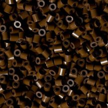 Hama - Vasalható dekorgyöngy barna 400db
