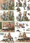 Játszó gyermekek 1, nosztalgia, Fázisos 3D