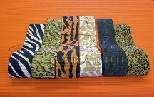 Hullámpapír - Szafari mintás, 10cm széles - Különböző minták választhatók