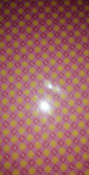 Transzparens papír - Baby rózsaszín lovacskás