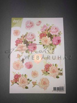 Bőr- és rózsaín rózsa, Fázisos 3D
