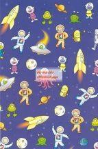 Kartonpapír - Űrhajós Karton, kék