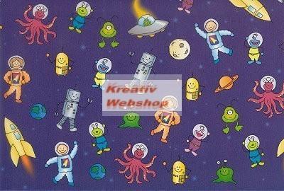 Transzparens papír - Űrhajós