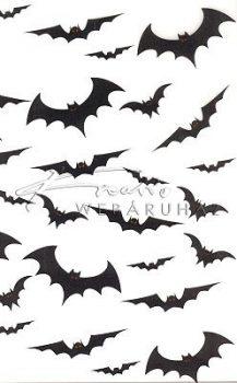 Transzparens papír - Denevér, Halloween