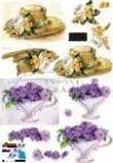 Kalap, virág Fázisos 3D