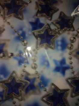 Transzparens papír -Kék Csillagfüzér