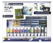 Nagy művészeti oktató készlet - Akrilfestés