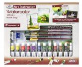 Nagy művészeti oktató készlet - Akvarellfestés