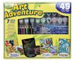 Szuper művész készlet - 40 részes ajándékkészlet nagyméretű