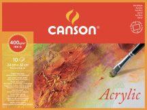 MONTVAL savmentes akvarell- és akril festő-tömb 100 % alfa cellulózból, (4-oldalt ragasztott) 400 gr, 10 ív, finom, 24 x 32 cm