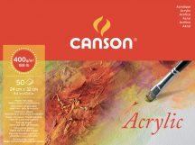 MONTVAL savmentes akvarell- és akril festő-tömb 100 % alfa cellulózból, (hosszú oldalán ragasztott) 400 gr, 50 ív, finom, 24 x 32 cm