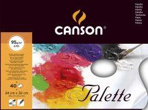 FIGUERAS paletta olaj- és akrilfestéshez, letéphető ívekkel 95g/m2 40 ív 24 x 32