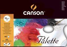 FIGUERAS paletta olaj- és akrilfestéshez, letéphető ívekkel 95g/m2 40 ív A3
