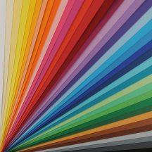 VIVALDI CANSON, savmentes színes papír, ívben 200g/m2 30 árnyalat 50 x 70