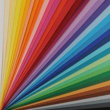 VIVALDI CANSON, savmentes színes papír, ívben 185g/m2 30 árnyalat 50 x 70