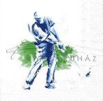 Golf, Szalvéta