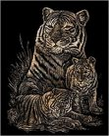 Kreatív hobby - Tigrisek