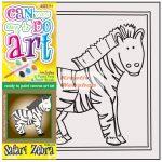 Kreatív hobby - Zebra