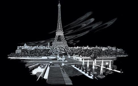 Kreatív hobby - Eiffel-torony