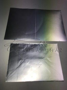 Meghívó készlet - 50 db ezüst színű meghívó borítékkal