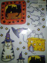 Halloween cicák dec.transz