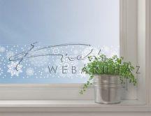 Mandala motívumok - öntapadós dekorcsík ablakra