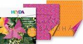 Pink és narancs hajtogató készlet, kétoldalas, 10x10 cm