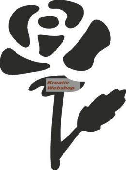 Lyukasztó - Nagy rózsa lyukasztó