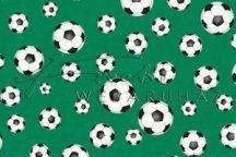 Kartonpapír - Focilabda és focipálya mintás, Kétoldalas karton, 300gr - Kifutó