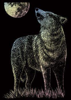Kreatív hobby - Holografikus - Farkas