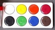 Óriás gombfesték készlet, 8 színű