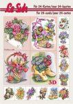 Virág Csendéletek, Fázisos 3D füzet