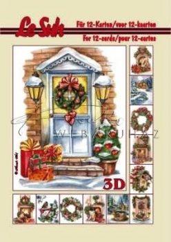 Karácsony kint és bent 3D füzet