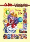 Cirkusz, 3D füzet