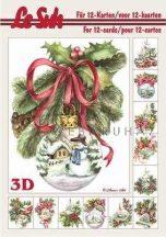 Karácsonyfa díszek 3D füzet