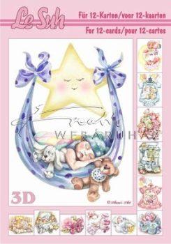 Fiú és lány babák, 3D füzet