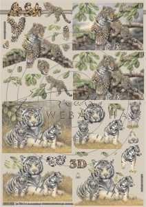 Szibériai tigris és leopárd, Fázisos 3D