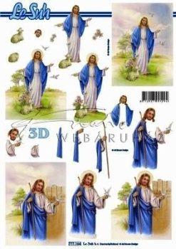 Jézus galambokkal, Fázisos 3D